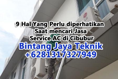 9 Hal Yang Perlu diperhatikan Saat mencari Jasa Service AC di Cibubur